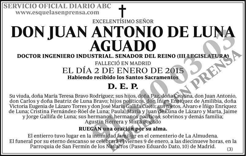 Juan Antonio de Luna Aguado